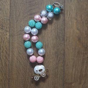 Carriage Bubblegum Necklace
